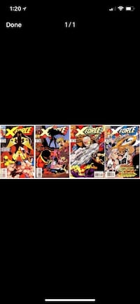 Comic books. X- force.  Mint condition. Free delivery  London, N5Y 4A6