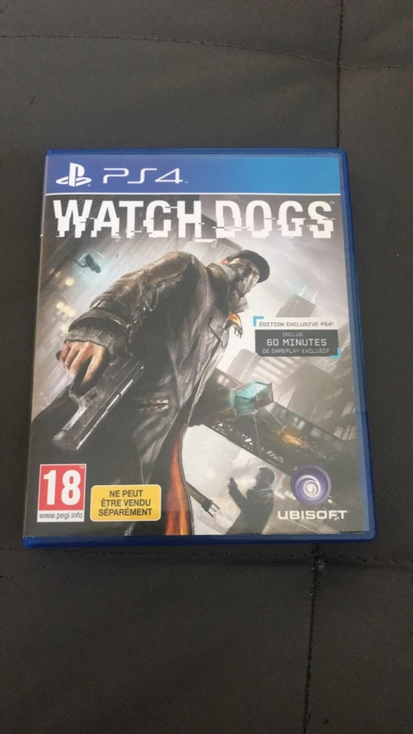 jeu watch dogs ps4