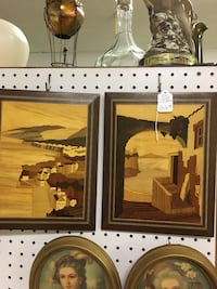 2 inlaid wood pictures made in Italy Oklahoma City, 73112