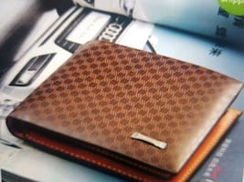 Wallet (leather interior)