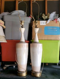 Set of 2 vintage large lamps Albuquerque, 87121