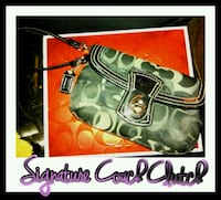 Authentic Signature Coach Clutch  Reisterstown, 21136