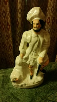 Antique Staffordshire statue