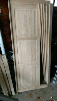 $50 or BO - Brand New Unfinished Bed Frame/Headboard