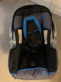 Baby Trend Expedition Black/Blue Car seat with base Lorton, 22079
