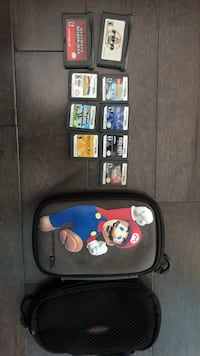 Nintendo DS case and games  Pickering, L1V 6W3