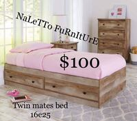 Twin size platform bed (mattress not included ) Dallas, 75228