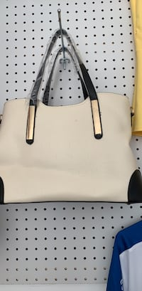 white leather 2-way handbag Woodbridge, 22191