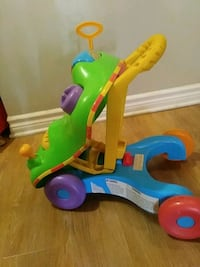 toddler's green and blue ride on toy Gatineau, J8T 2W6