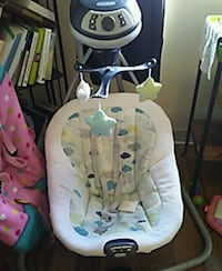 baby's white and gray cradle and swing Napa, 94558