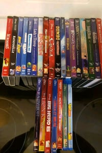 Disney DVDS and Blu-rays