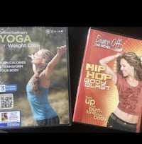 Yoga & Zumba DvD's Miami, 33131