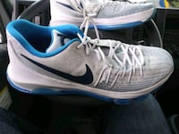 pair of white-and-blue Nike running shoes San Jose, 95127