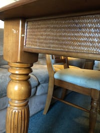 Kitchen/Dining Room Table w/Leaf Silverton