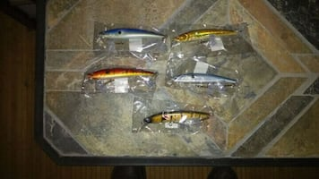 (5) Fishing Lures New in Package