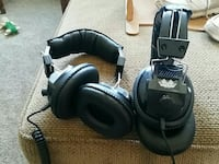 Two race day headphones, plugs into race scanner,  Culpeper, 22701