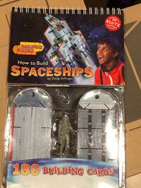 New -How to build Spaceships(Building Cards) Mississauga, L5E 3K5