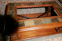 Center table with glass top very heavy Conyers