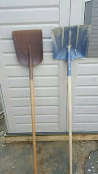 two brown wooden handled shovels Stratford, 06615
