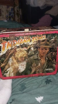 Really old Indiana Jones lunch box Faribault, 55021