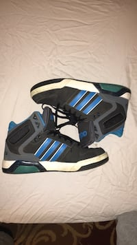black-and-blue Adidas low-top sneakers Moore, 73160