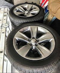 Tires dodge charger and rims Valrico, 33596