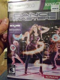 Xbox 360 Dance Masters Kinect case