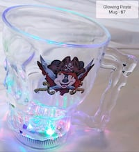 Glowing Pirate Mug - $7 Toronto, M9B 6C4