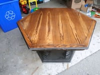 Wooden sturdy coffee table  555 km