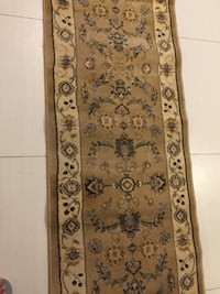 brown and black floral area rug Calgary, T3J 2W7