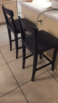 Black bar stools San Antonio, 78230