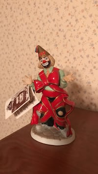 Clown ceramic figurine Peru, 46970