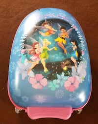 REDUCED Light up tinkerbell suitcase West Springfield, 22152