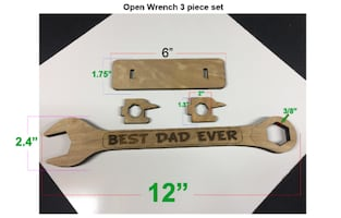 Wood Combination Wrench
