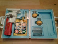 Vintage Fisher Price Microscope set...COMPLETE