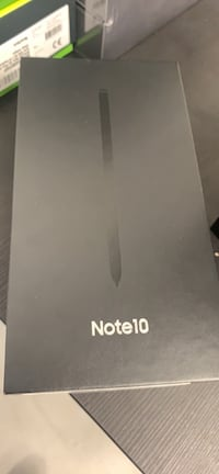 Note 10 brand new sealed black