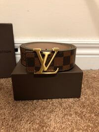 Brown LV Damier Belt Mississauga, L5B 2C9