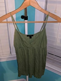 Olive Green Tank from Express Stone Ridge, 20105