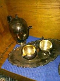 two brass-colored bowls Victorville