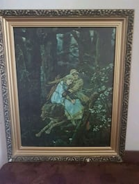 Stunning print painting and frame.  Vancouver, V6A 2V3