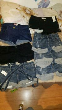 Size S&M Shorts All For $25