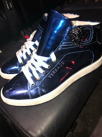 Men's Versace high top sneaker designer size 45 so reg 10.5 Toronto, M3M 2L2