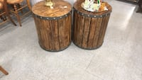 two brown wooden side tables Fort Washington, 20744