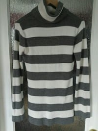 White and grey knit sweater Calgary, T3L 1R5