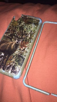 black and gray iPhone case Americus, 31719