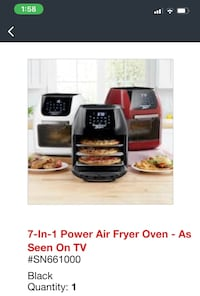 Air Fryer Brand New still in box paid $199 Laurel, 20707