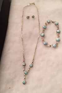 Sterling Necklace and Braclet, not sure on Earrings Mint Hill, 28227