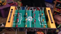 yellow and green foosball table Chatham, N7M 3N2