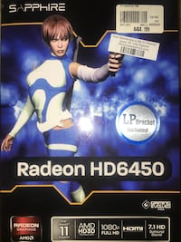 Radeon Gaming video card  Reston, 20194