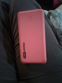 pocket juice portable charger pink CALGARY